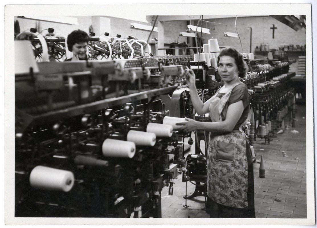 Textielfabriek Filterie Ghesquiere, jaren 1950-1960
