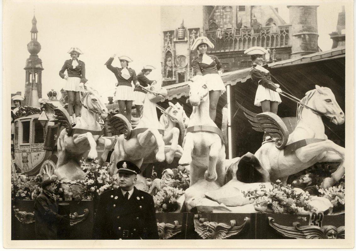 Carnaval te Aalst, jaren 1960