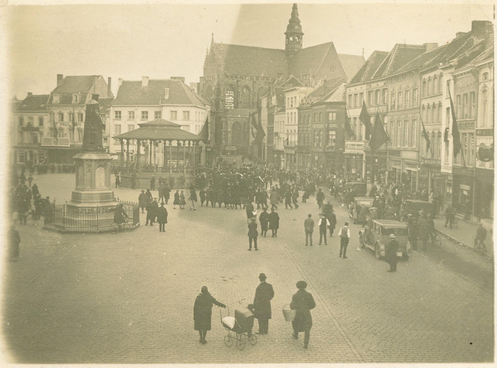 Aalsterse Grote Markt, jaren 1920